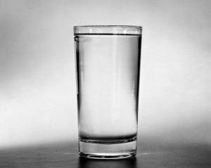 Close-up of a glass of water